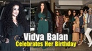 Vidya Balan Begins Her Birthday Celebrations With A '70s Style Siddharth Roy Kapoor
