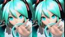 PS4 pro 1080p VS PS4 1080p 60fps 初音ミク Project DIVA Future Tone