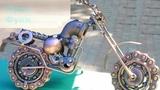 Прикольные Скульптуры из Металлолома! Интересное и Смешное Видео!