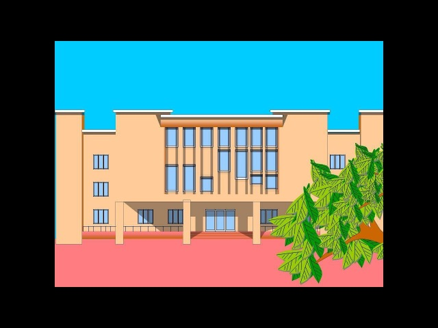 Малюємо будівлю у презентації PowerPoint_Draw a building in the PowerPoint presentation