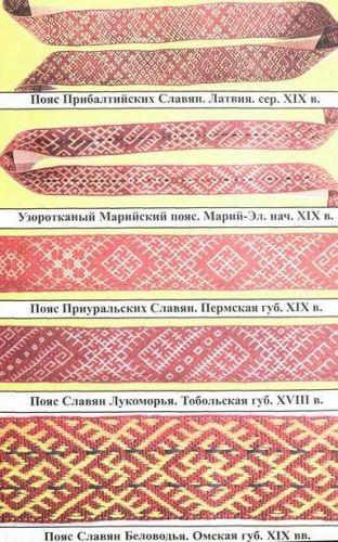 частью славянской одежды: