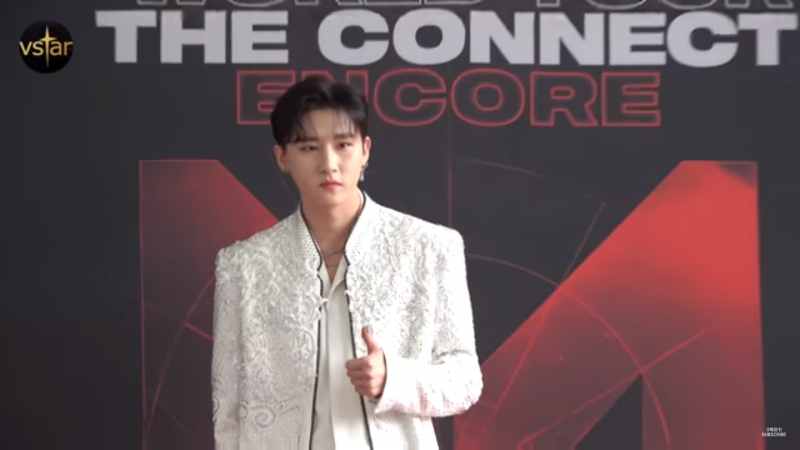 [VK][180825] MONSTA X Press conference THE 2nd WORLD TOUR 'THE CONNECT' in Seoul @ Vstar