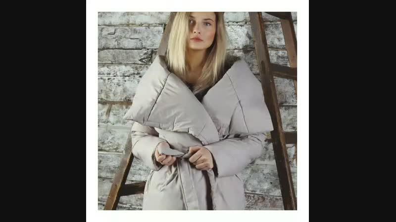 Пуховики-одеяла