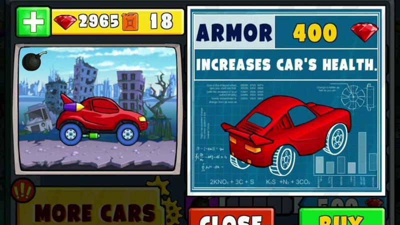 1-2 Дюжина хищных машин против Битли на Арене в игре Car Eats Car