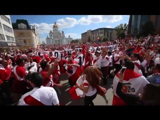 Фанаты Перу в Саранске