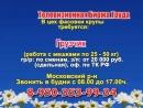 16 августа 17 40 Работа в Нижнем Новгороде Телевизионная Биржа Труда