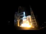 Запуск ракеты-носителя Delta IV Heavy с солнечным зондом Parker на борту 11.08.2018