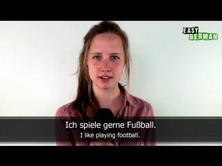 Easy German Basic Phrases - Hobbies