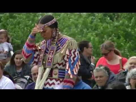 Womens Jingle Exhibition - Pine Tree Singers - Redhawk Native Arts Raritan Pow Wow 2018