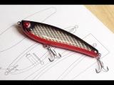 Making a Bulletproof Glide (Jerk) Bait Fishing Lure Part 2 of 2