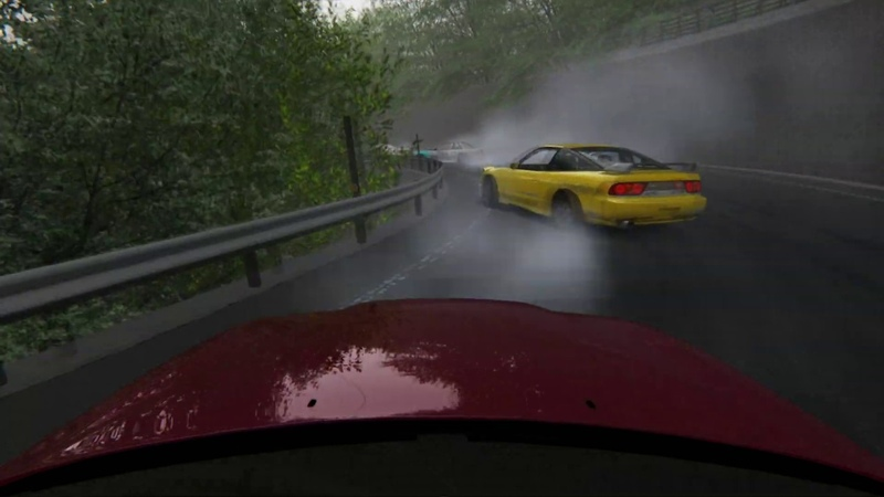 Assetto Corsa - Touge drift on Happogahara