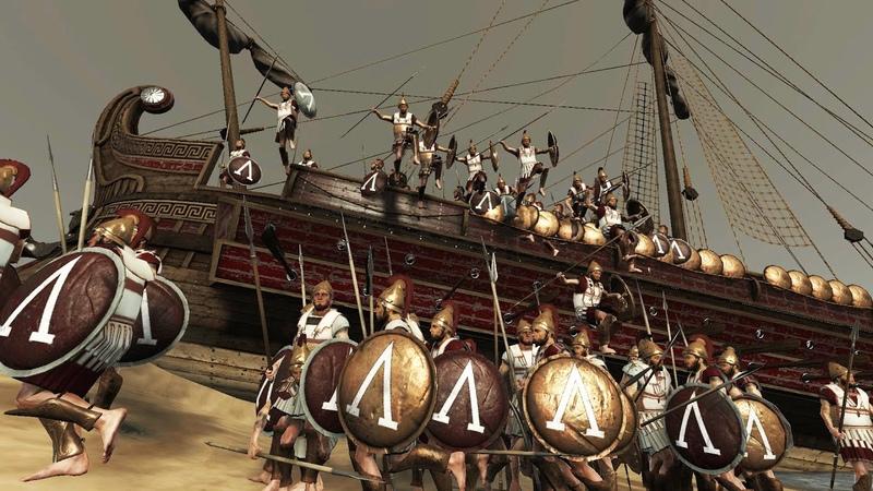 SPARTAN VS ROMAN MASSIVE WAR TOTAL WAR ROME 2