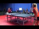 Уроки настольного тенниса на Новой Риге. Урок 5.