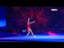Оксана Чусовитина на шоу Легенды спорта