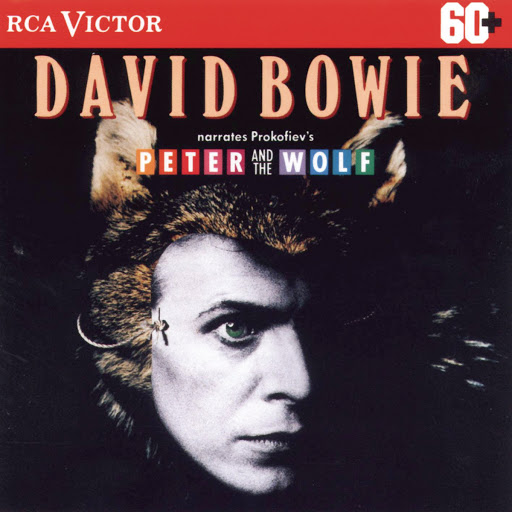 David Bowie альбом Peter & The Wolf