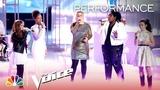 Kelly Clarkson &amp Team Kelly Perform