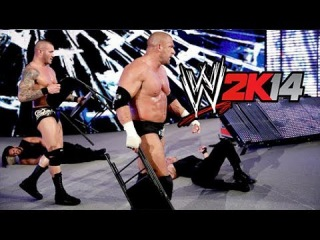 WWE 2K14 WWE Payback 2014 - Evolution vs The Shield - HD NO FAKE GAMEPLAY CRAP