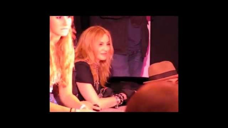 Madonna, Lola Rocco (breakdancing) @ Material Girl Macy's Private Party Final Speech am
