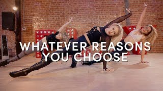 The Jones Project - Whatever Reasons You Choose   Marissa Heart Choreography   DanceOn Class