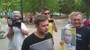 Шествие Бессменный полк в Белгороде