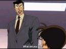 Detective Conan Kogoro imitating Conan's Alele