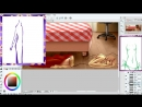 Yu Toya Как рисовать АНИМЕ тело в SAI и ClipStudio