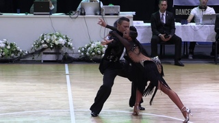 Artyom Liaskovsky - Ksenia Zaputriaeva ISR, Rumba | WDSF World Open Latin