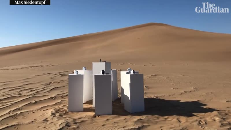 Africa by Toto to play for all eternity in Namib desert