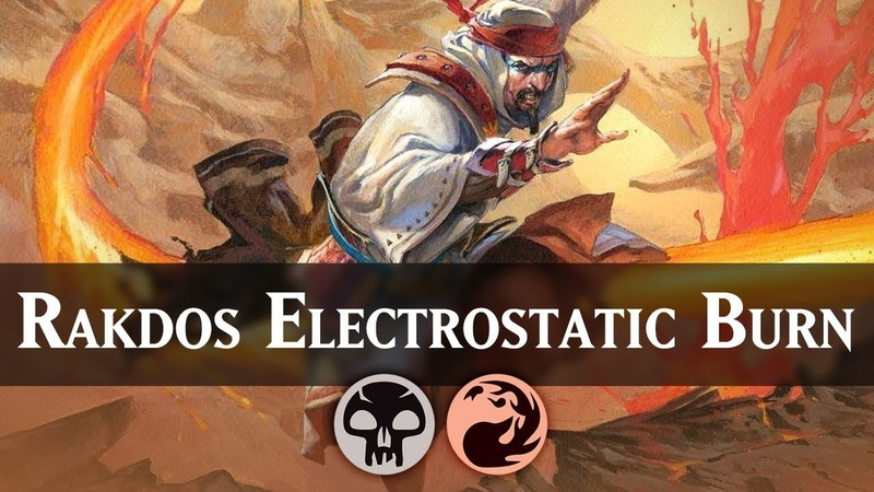 Rakdos Electrostatic Burn | Guilds of Ravnica Standard Deck Guide [MTG ARENA]