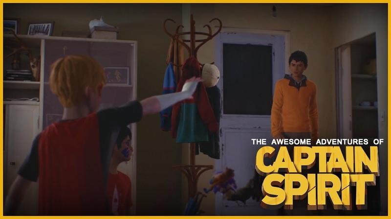 Captain Spirit Returns in Life is Strange 2 - Ep 2
