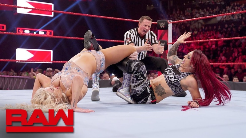 Charlotte Flair vs Ruby Riott Beat the Clock Challenge Match Raw March 25 2019