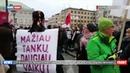 В Вильнюсе прошла массовая акция профсоюзов Последний звонок