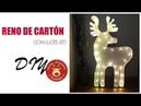 DIY- Reno de cartón con luces led / Nerea Iglesias