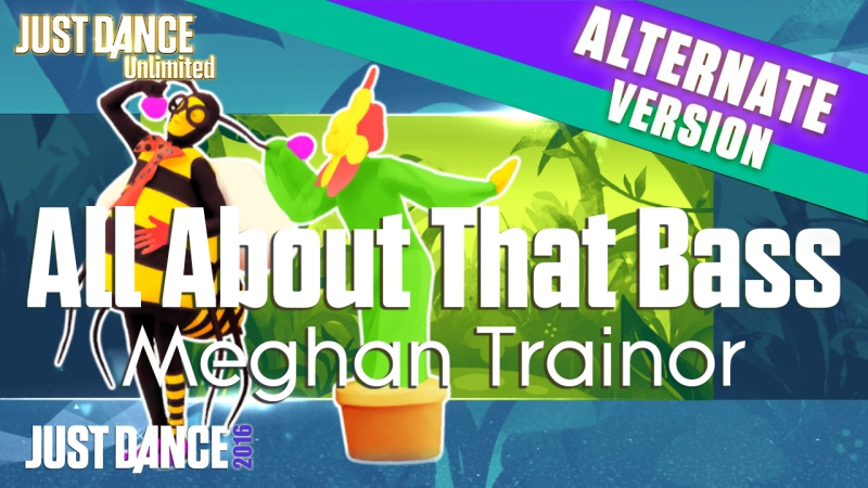 Just Dance Unlimited | All About That Bass - Meghan Trainor | Flower Bee version | Just Dance 2016