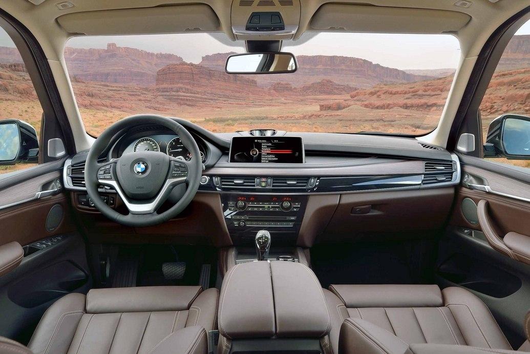 Салон BMW X5 2014