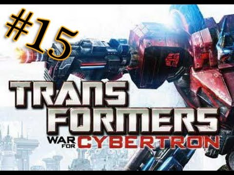 Let's play Трансформеры Битва за Кибертрон 15 серия