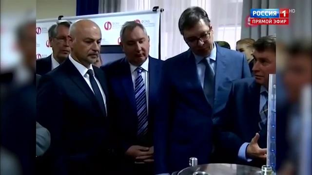 Новости на Россия 24 • Храбрый Николас переезжает к Рогозину: вице-премьер забрал дышавшую жидкостью таксу