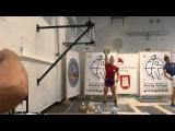 Дьячков Олег (рывок), гири 24 кг, результат 180 , тренер ЗМС Сергей Васильевич Меркулин