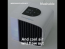 Cool down your workspace with this personal air conditioner.