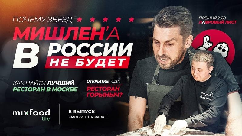 Звезда Мишлен в России? Открытие года - Ресторан Горыныч / Современный ресторан Москвы