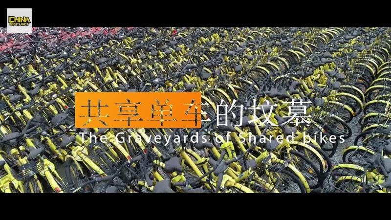 China's HUGE Bike Graveyards 共享单车的坟墓