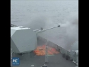 Морские учения с участием Синина эскадренного миноносца с управляемым ракетным оружием китайских ВМС