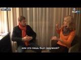Павел Родионов при объявлении победителя Гран - при Международного кинофестиваля глухиx за лучший короткометражный фильм «Через тернии к звездам»
