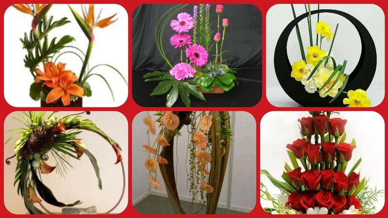 Beautiful latest stylish flower arrangement home decoration collection