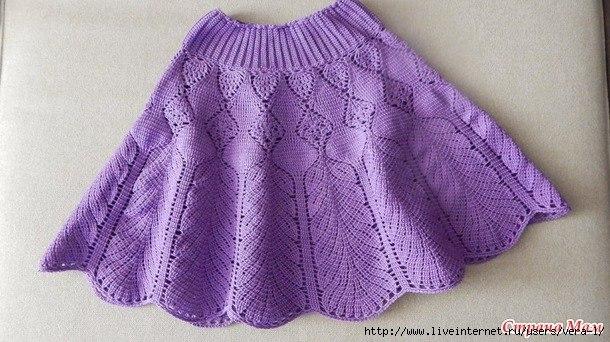 """钩针裙子""""紫丁香"""" - maomao - 我随心动"""