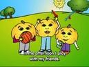 Student activities pt.6: I get up, I go to school Kids English Grammar Cartoon