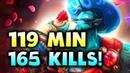 119 Min 165 KILLS 9th LONGEST GAME EVER SPIRIT FERZEE FINAL KL MAJOR DOTA 2