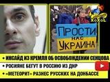 Инсайд из кремля об освобождении Сенцова Коренные россияне бегут в Россию из ДНР