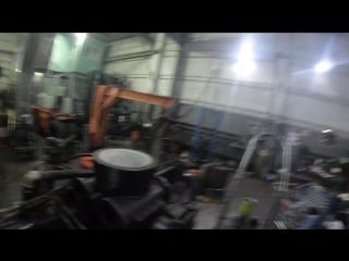 Запечатали фторопластовую втулку в ОПУ манипулятора ВЕЛМАШ ОМТ-97М