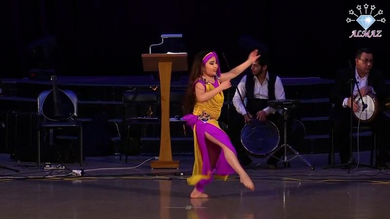 Amina Zhumagali! ALMAZ FESTIVAL 2018! Baladi with tabla